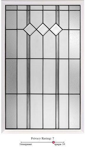 Auburn entry door glass lite option