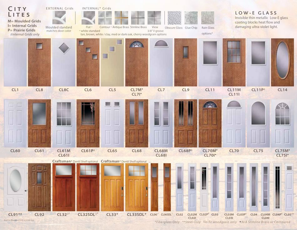 Polaris ultraweld entry doors catalog page 24