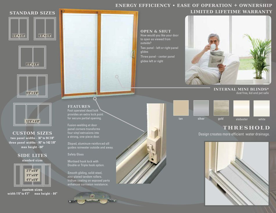 Polaris Ultraweld Patio doors brochure page 2