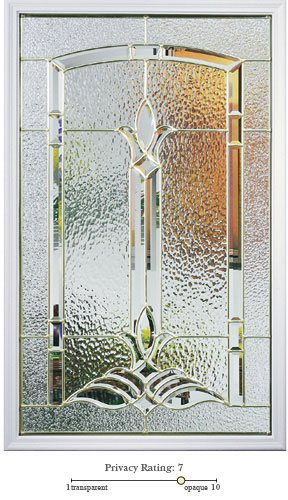 Bristol entry door glass lite option