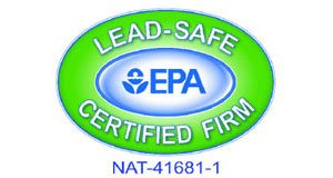 EPA Lead Safe Certified Firm NAT-41681-1