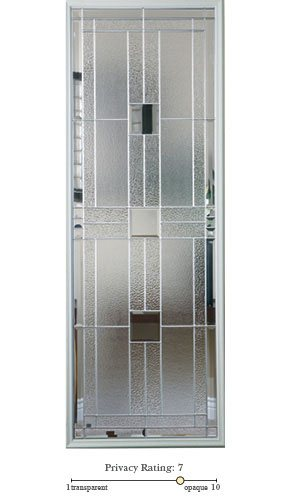 Monterey entry door glass lite option
