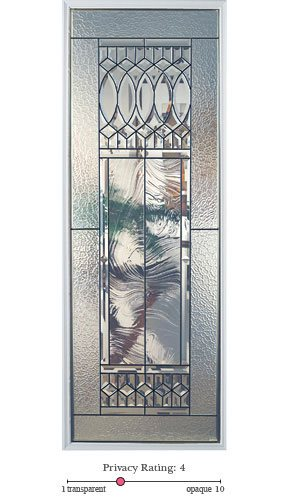 Paris entry door glass lite option